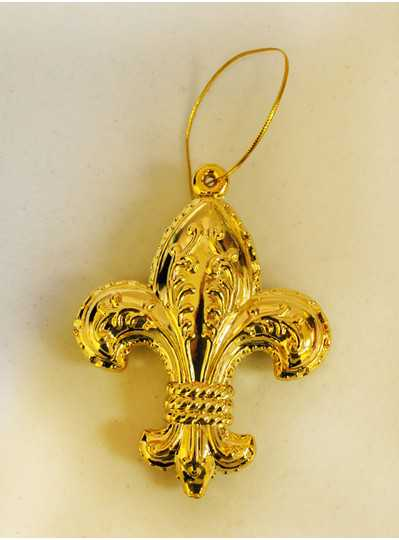 Decorations - Gold FDL Ornament