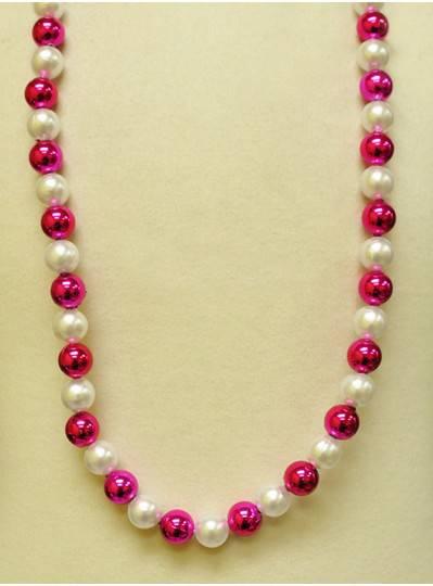 Handstrung Alternating Pink & Pearl