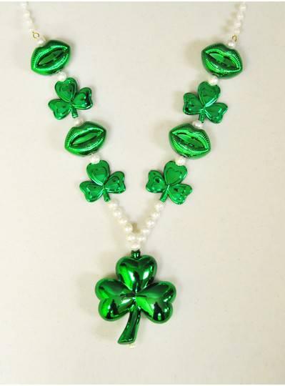 Irish Themes - Clover & Lips Bead