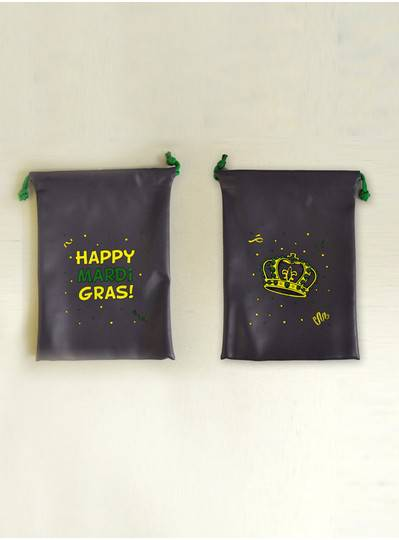 Bead Bags - Drawstring Vinyl Bag