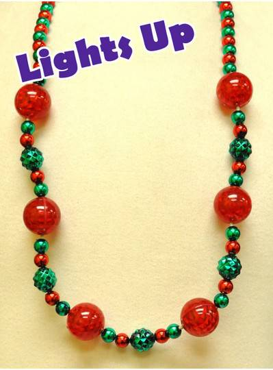 Blinky Beads - Christmas Beads