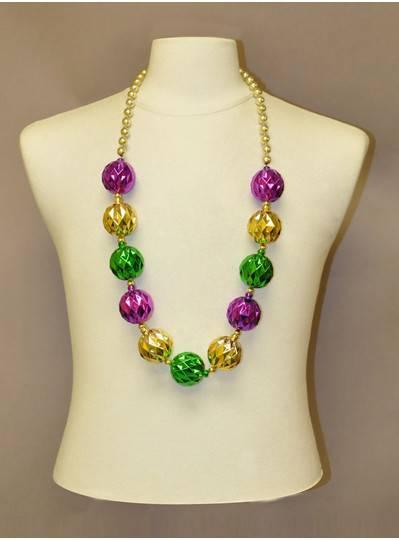 Mardi Gras Themes - Purple, Green & Gold Diamond Beads