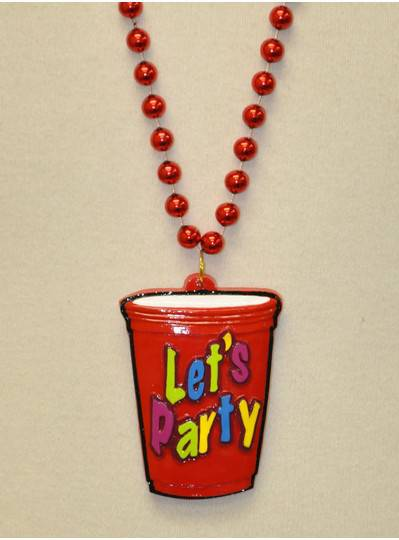 "Food & Beverage - ""Lets Party"" Red Cup"