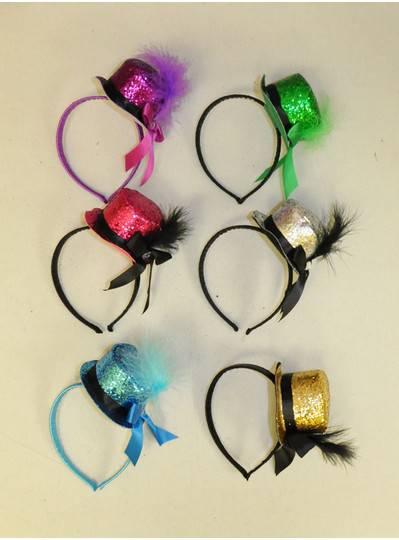 Fun Accessories - Glitter Hat Headbands