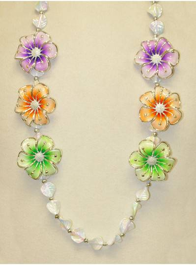 Flower Themes - PGG Flowers With Leaf Beads