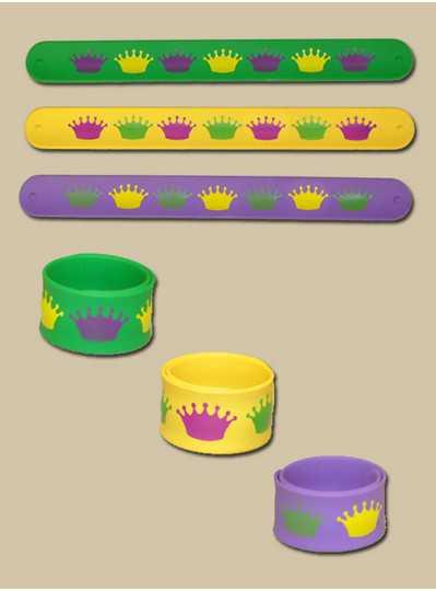 Fun Accessories - PGG Crown Slap Bracelet
