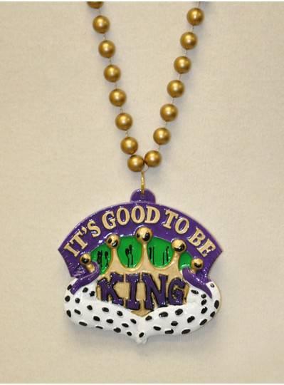 Mardi Gras Themes - Its Good To Be King Bead
