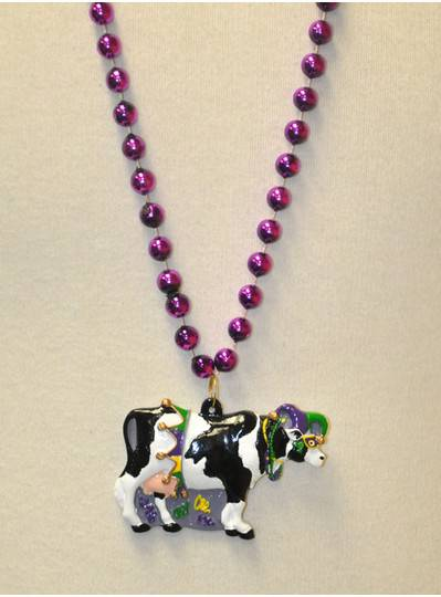 Creatures & Critters - Mardi Gras Cow