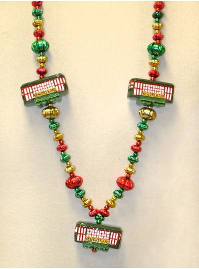 New Orleans Themed Street Car Bead