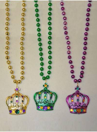Mardi Gras Themed PGG Rhinestone Crowns