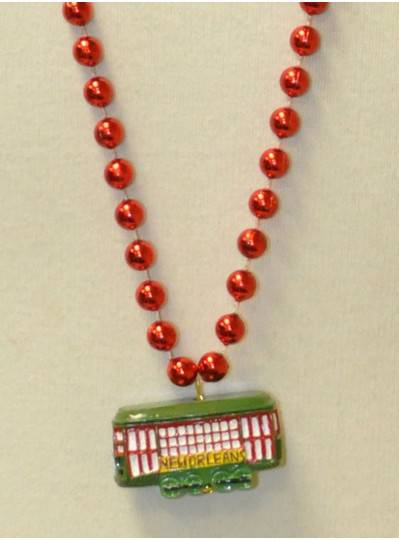 Iconic New Orleans Streetcar Bead