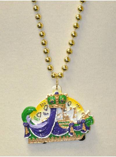 Mardi Gras Purple, Green & Gold Float