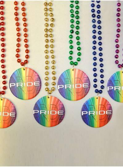 Poly-Resin Rainbow Pride Bead