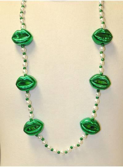 Irish Themes Green Lips & Pearls