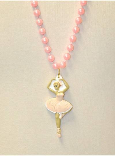 Handstrung Beads Ballerina Medallion