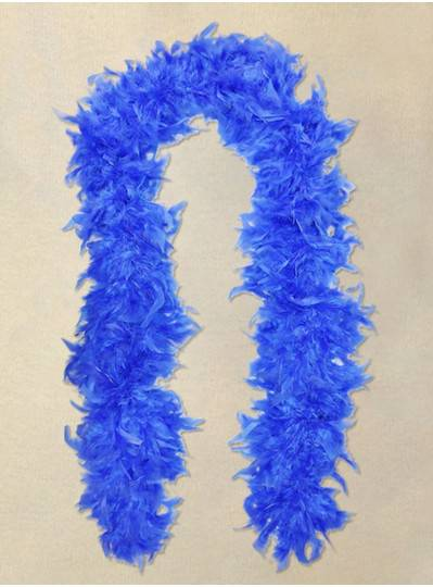Feather Boa Blue