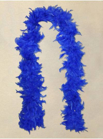 Feather Boa Blue Light Weight