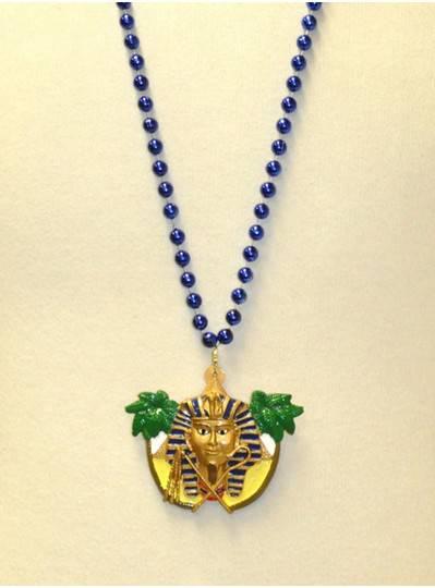 """36"""" 8MM Royal Blue Egyptian Pharoah"""