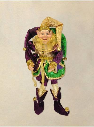 "12"" Elf Jester With Beard PGG"