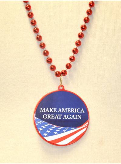 "33"" Red Make America Great Again Decal Bead"