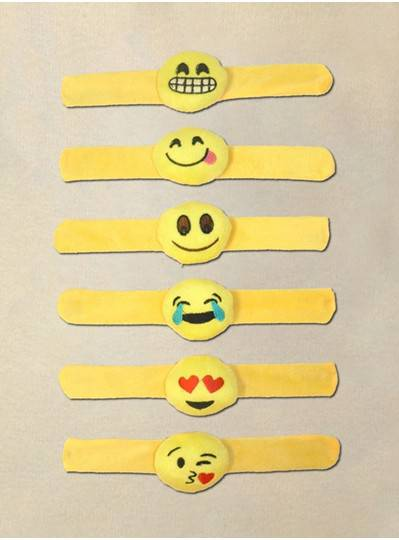 Slap Bracelets 6 Assorted Styles