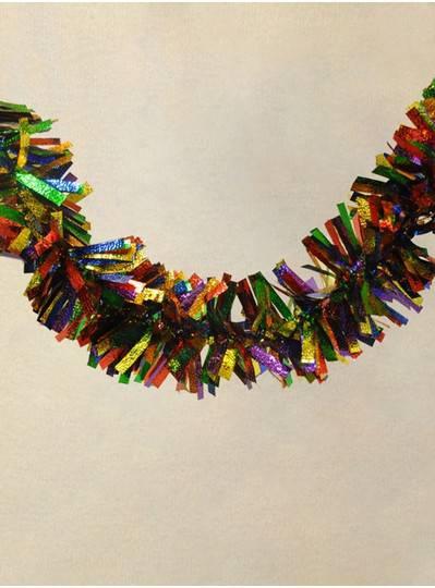 "6"" X 9 Rainbow Foil Garland"