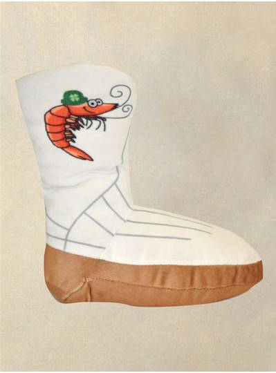 Creatures & Critters St. Patricks Day Louisiana Shrimp Boot