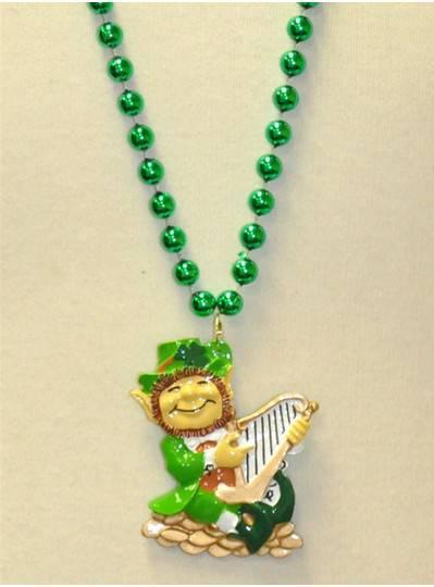 "36"" 10MM Irish Themes Leprechaun with Harp"