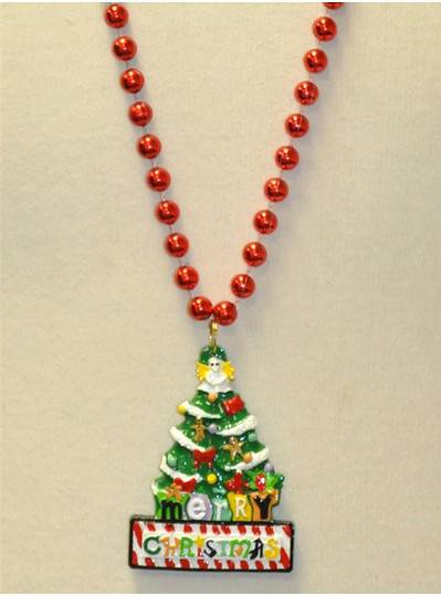 Stocking Wreath Christmas Beads