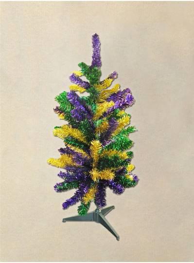 Mardi Gras Pine Tree 3 FT.