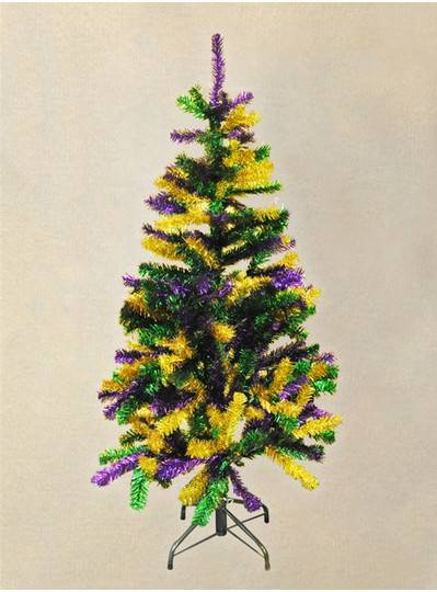 Mardi Gras Pine Tree 4.5 FT.