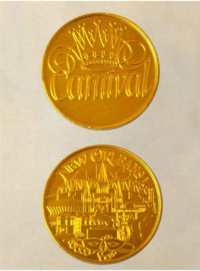 Gold Doubloon Coins 100/Bag