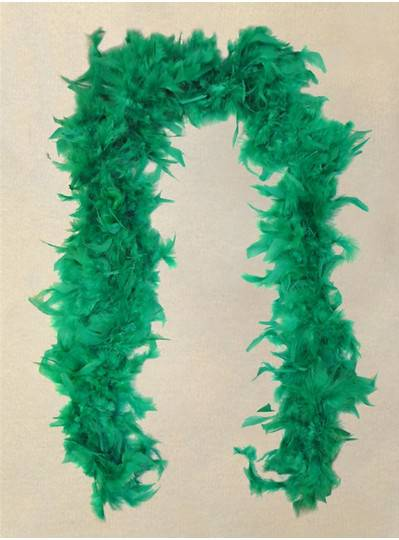 Feather Boa Teal Light Weight