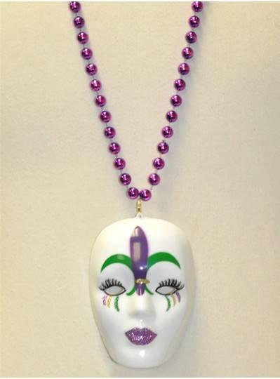 Mardi Gras Themes Mask With Fleur De Lis