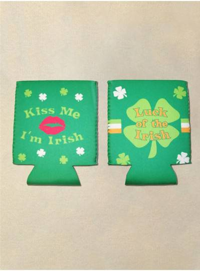 Fun Accessories - Kiss Me Im Irish/Luck of the Irish Koozies