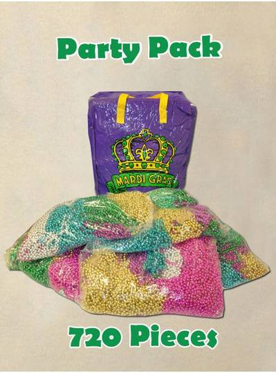 Party Pack Mardi Gras Beads