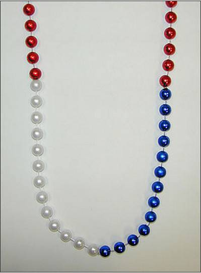 "48"" 12mm Segmented Red, White & Blue"