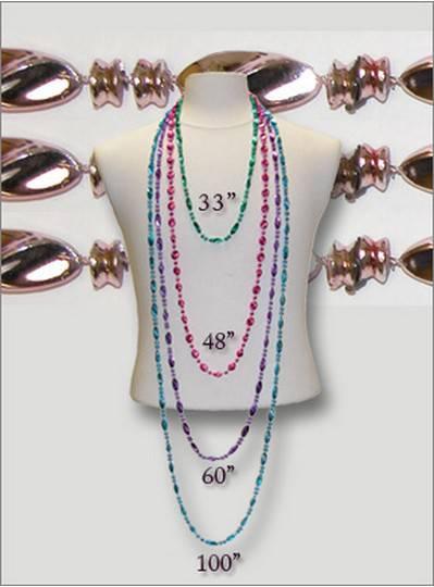 Metallic Swirl Beads