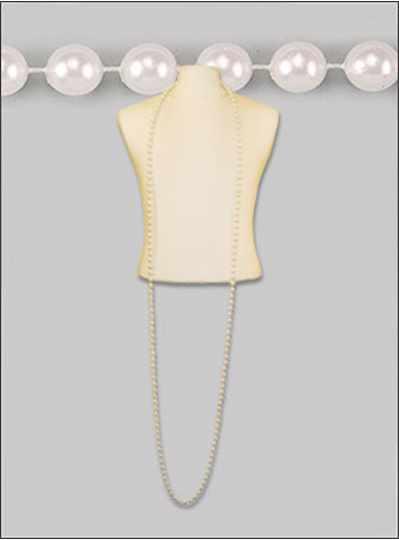"100"" 12mm Pearls White - DOZEN - 12 Necklaces"