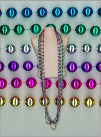 "96"" 12mm Round Metallic Assorted Colors"