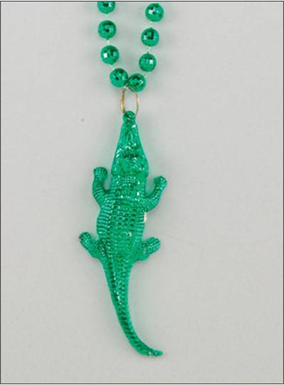 Creatures & Critters Alligator Throw Beads