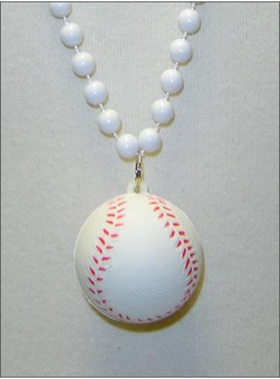 """Sports Themes 33"""" Baseball Beads"""
