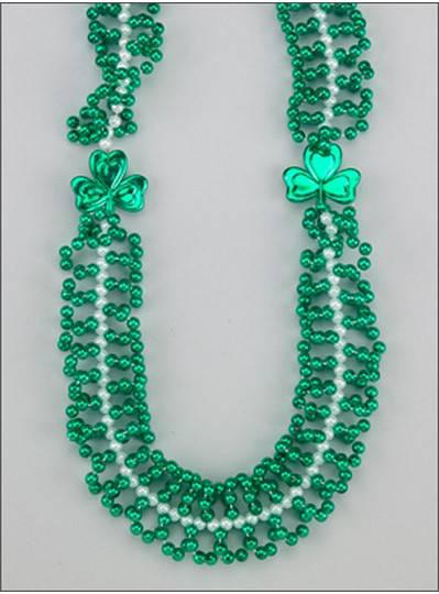 Irish Themes Spiral Beads & Shamrocks