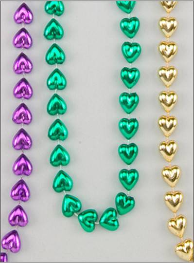 "Heart Themes 48"" 14mm PGG Hearts"