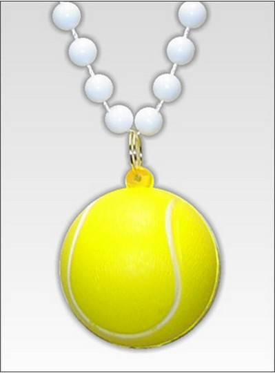 "Sports Themes 33"" Tennis Ball Beads"