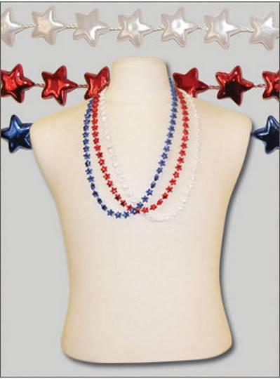 """48"""" Star Mix Red, White & Blue"""