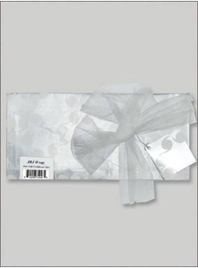 JBJ Wrap Silver Gift Certificate Bag