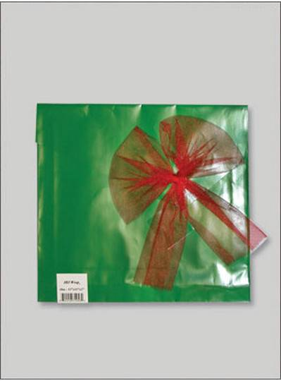 JBJ Wrap Christmas Green Large Bag