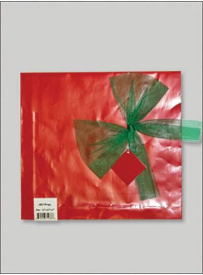 JBJ Wrap Christmas Red Large Bag