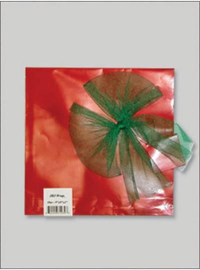 JBJ Wrap Christmas Red Medium Bag
